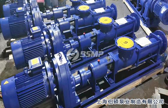 g型单螺杆泵-配减速机型图片